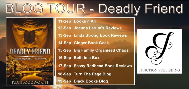 BLOG TOUR Banner - Deadly Friend